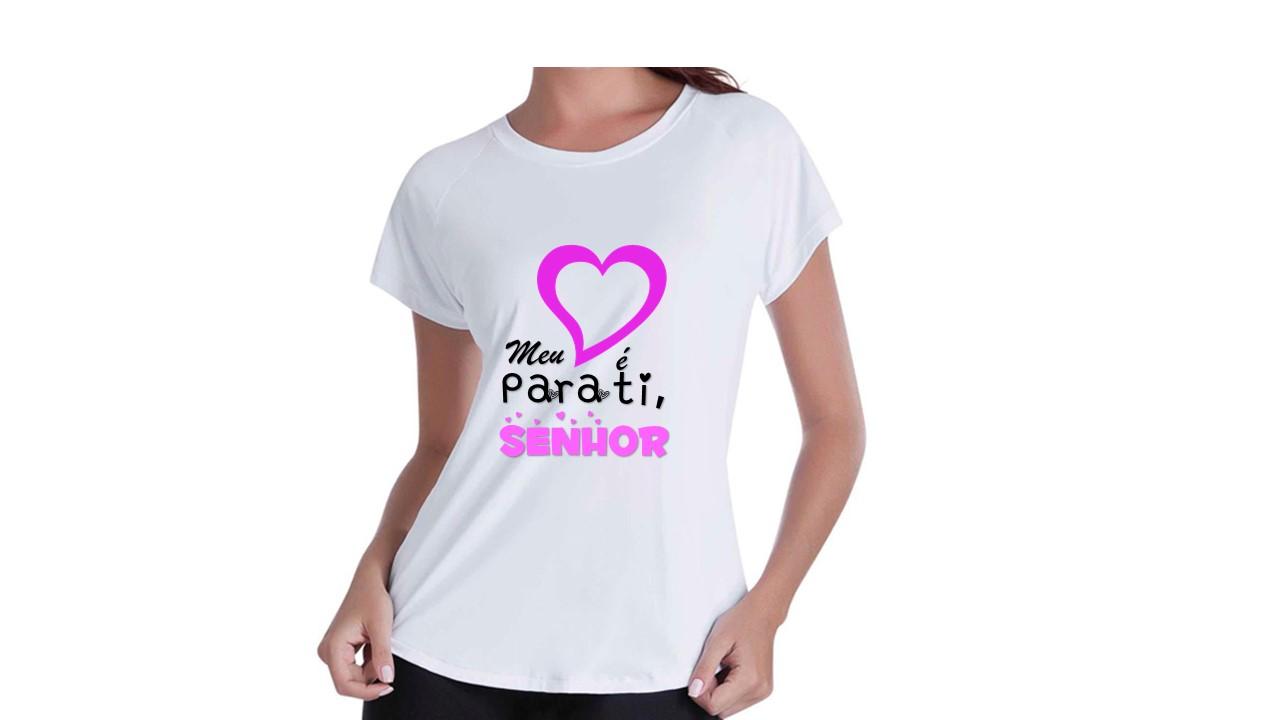 7c6ad6204 Camiseta Evangélica Infantil