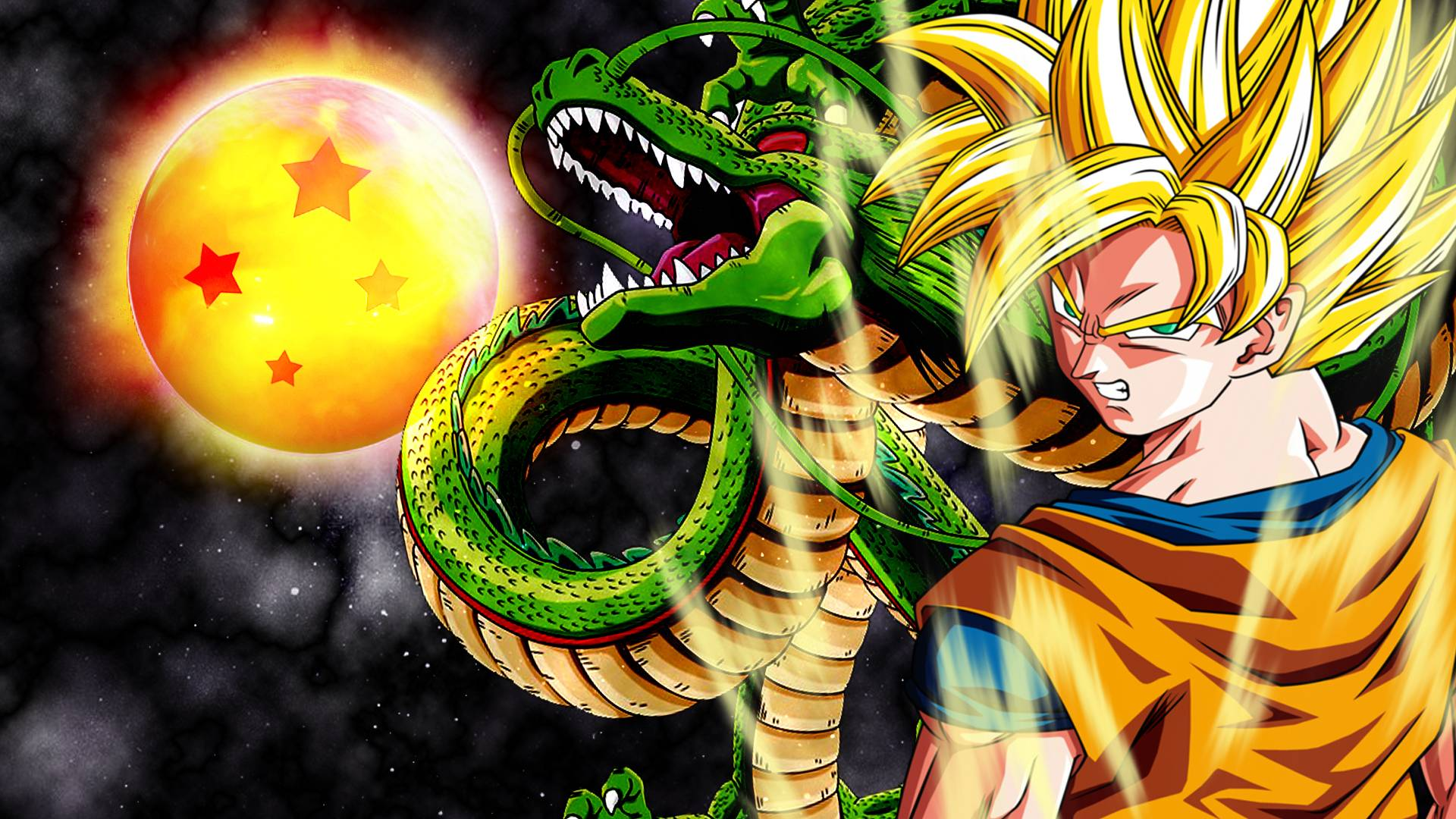 Painel Festa Dragon Ball Z 150x100m No Elo7 Painelkids B57a3b