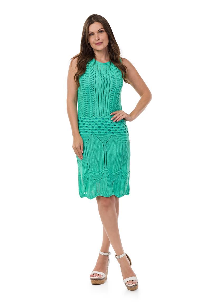 09dc0c69eb Vestido Curto Ombre Verde
