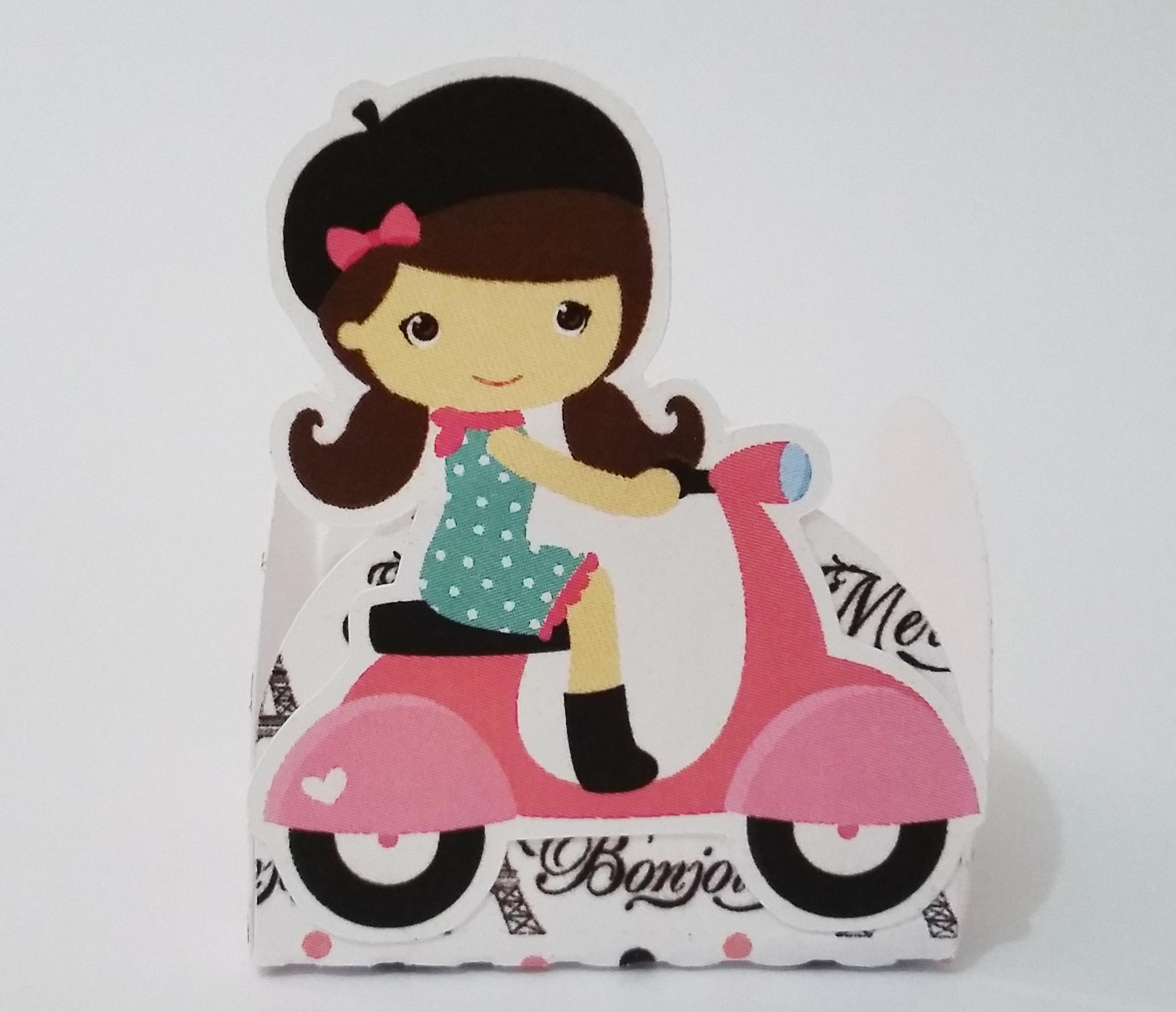 Design Of Forminha Menina - Tema Paris e preço