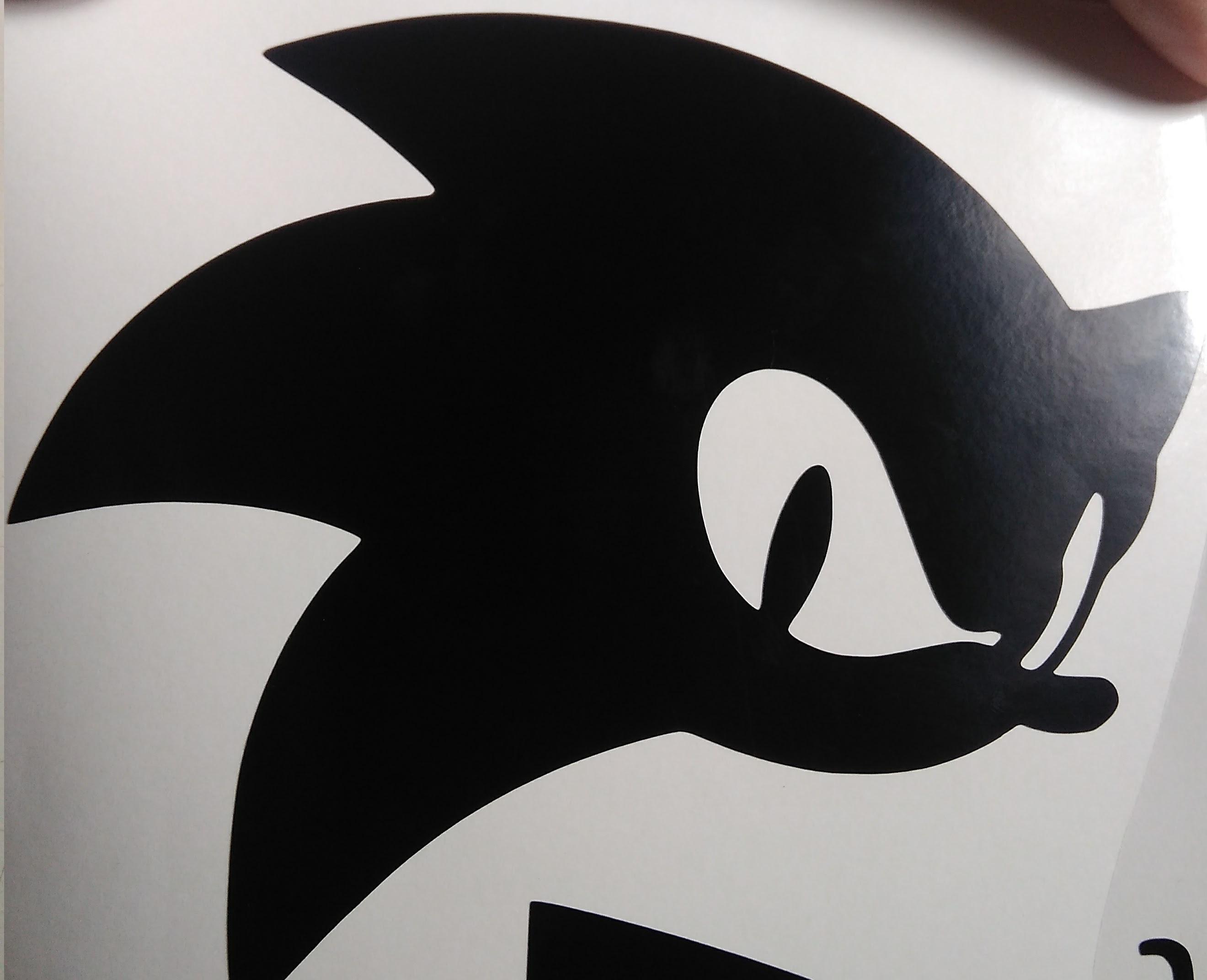 Sonic Peel /& Stick Adesivo Cena-metabolizadores Frete Grátis