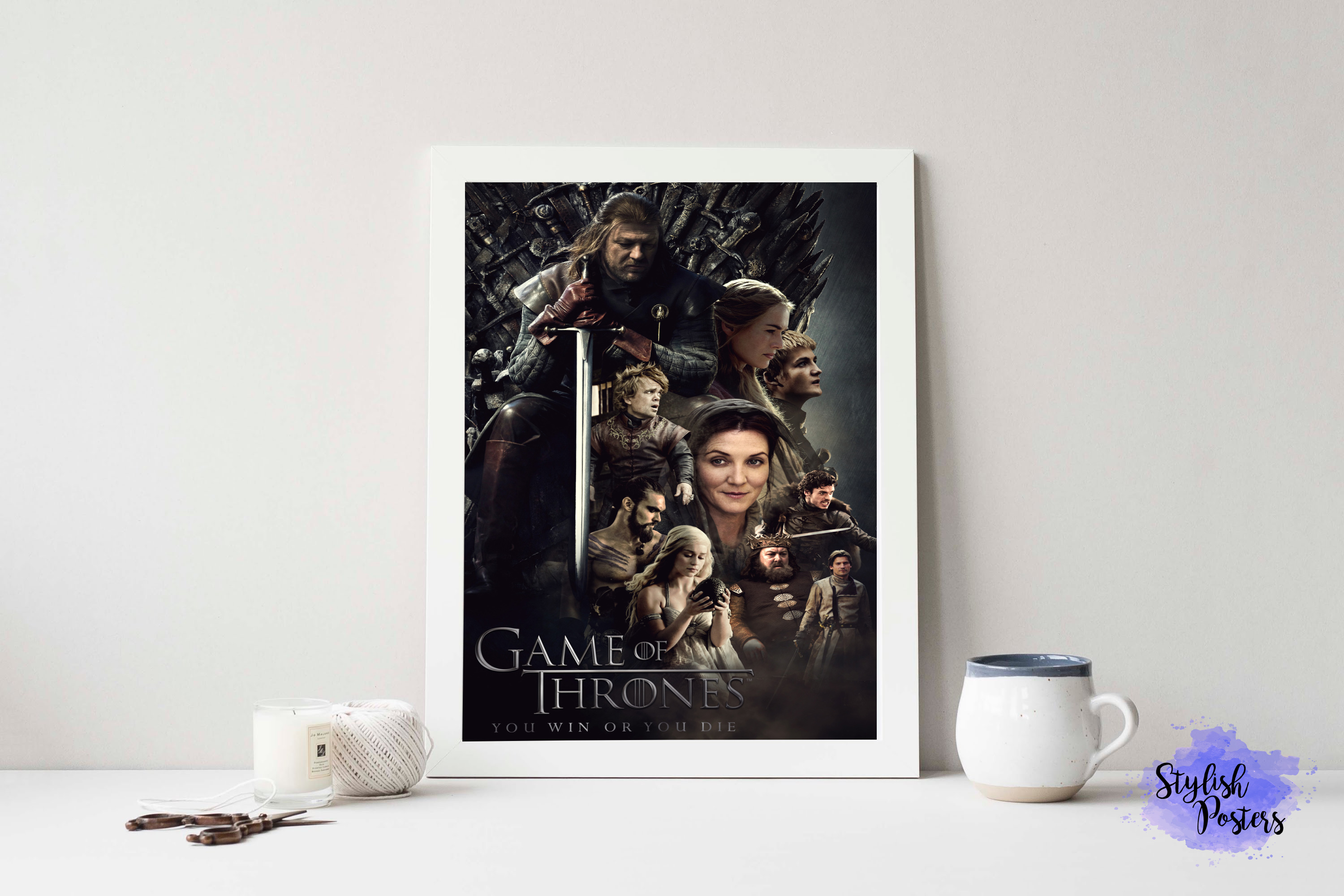 Pôster Game Of Thrones | Tamanho A4 no Elo7 | Stylish Posters (AF427D)