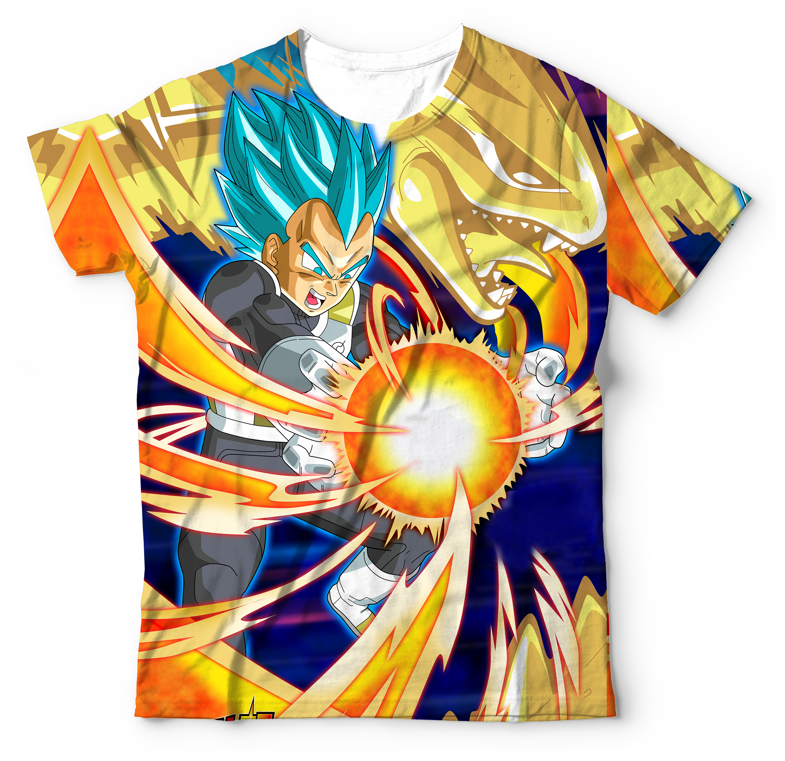 Camisa Camisetas Blusa Vegeta Dragon Ball Super  809865168a8