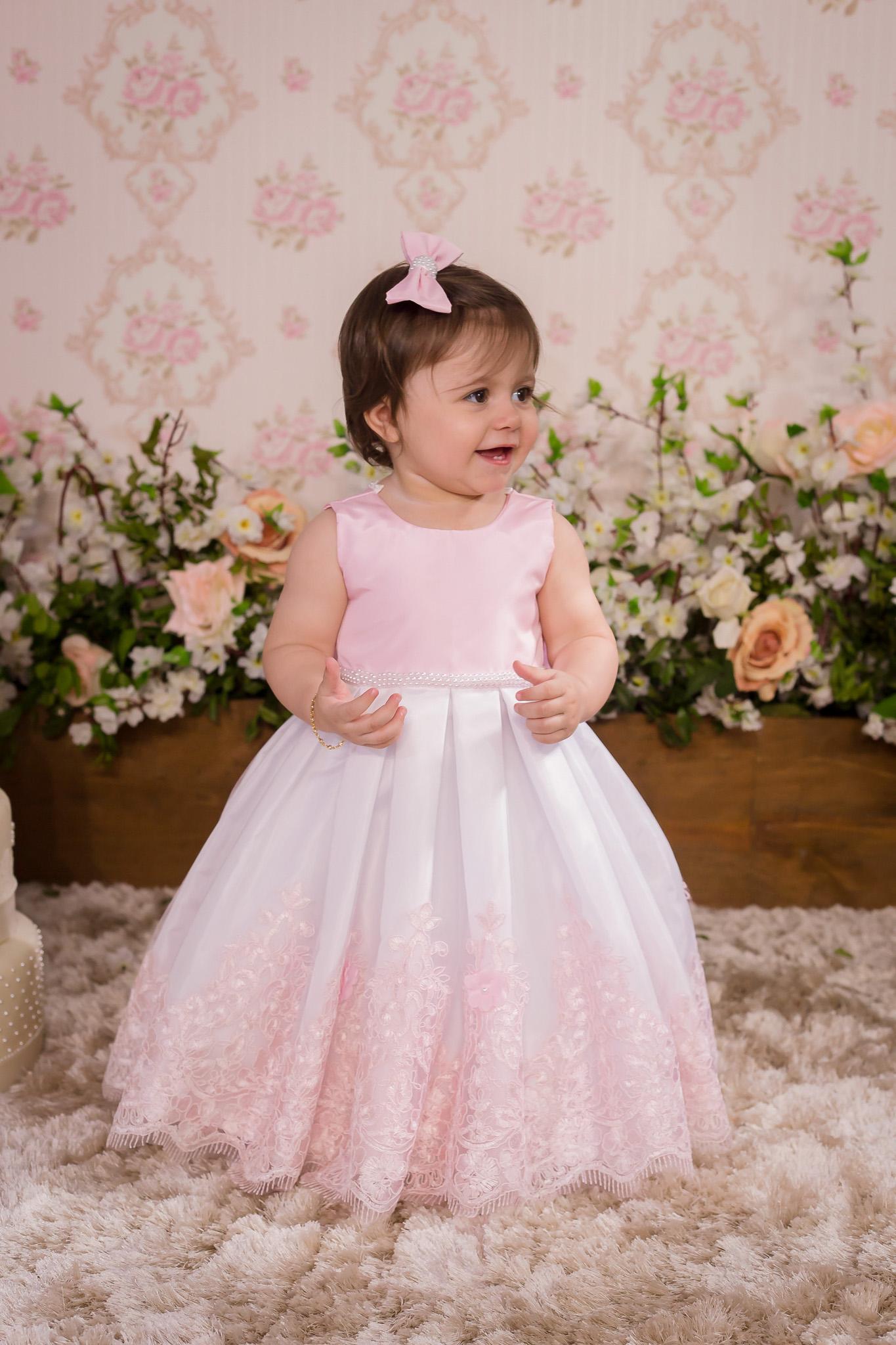 8f78b4793 Vestido Rosa para Daminha - Infantil no Elo7   Liminha Doce - Moda Infantil  e Mãe e Filha (AF82C2)