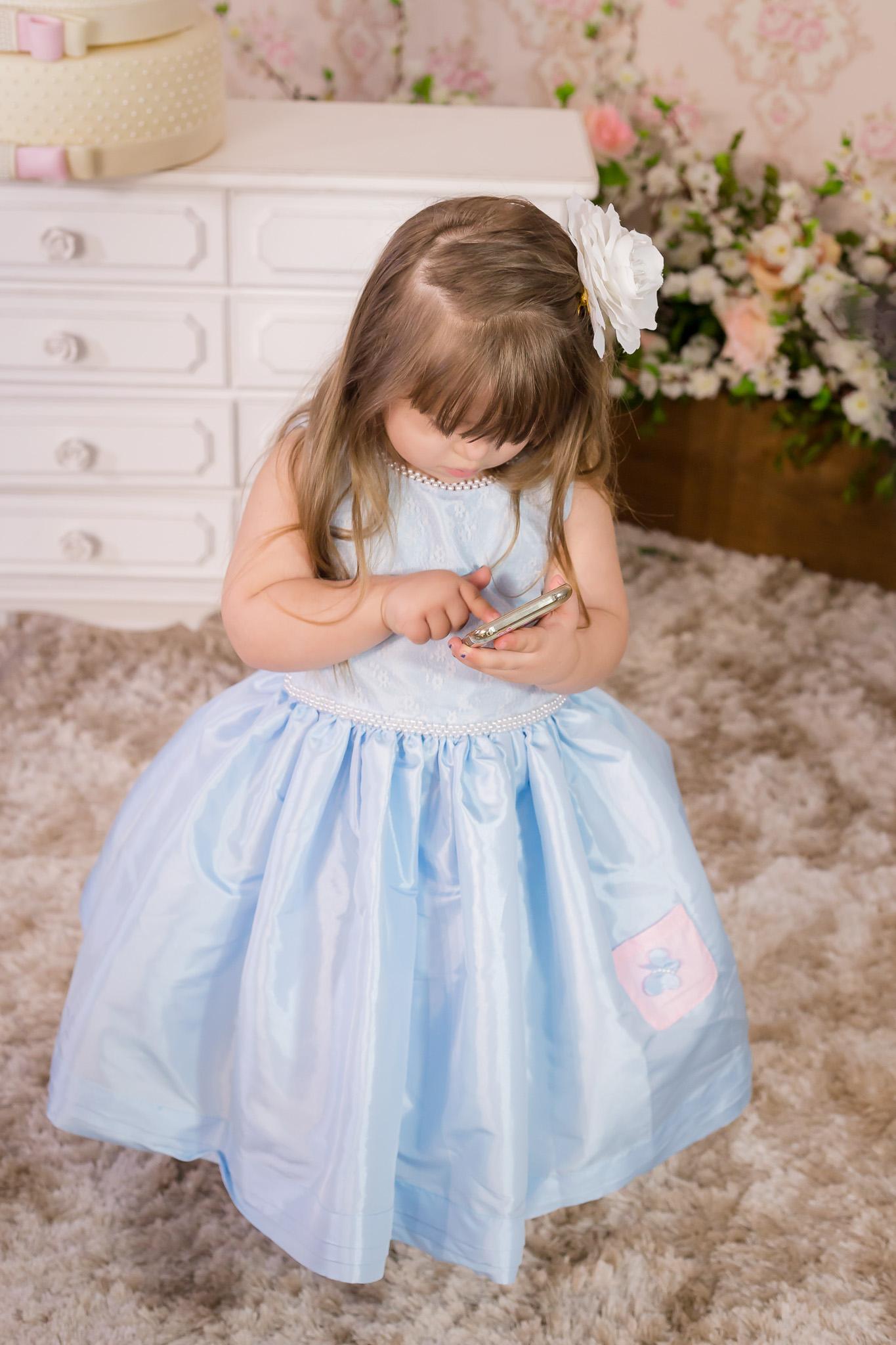 368dd4b55b Vestido Fabula Azul