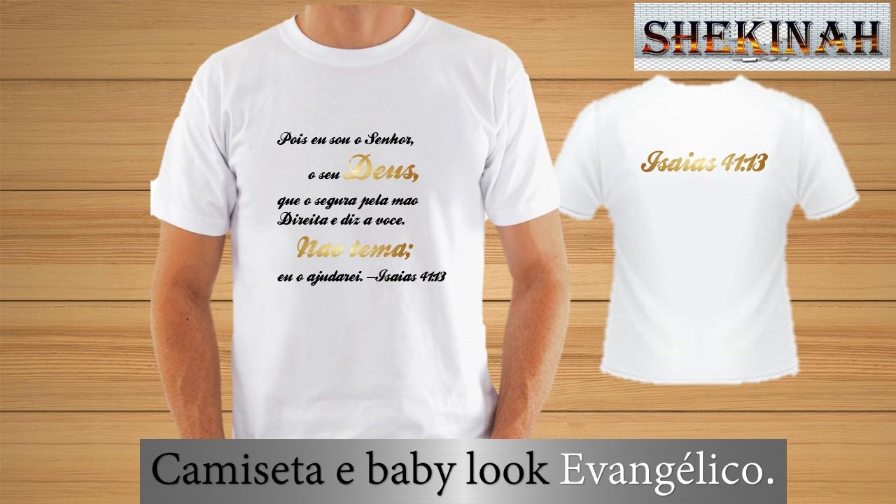 6de1e78811 Camisetas Evangelicas Personalizadas para Jovens