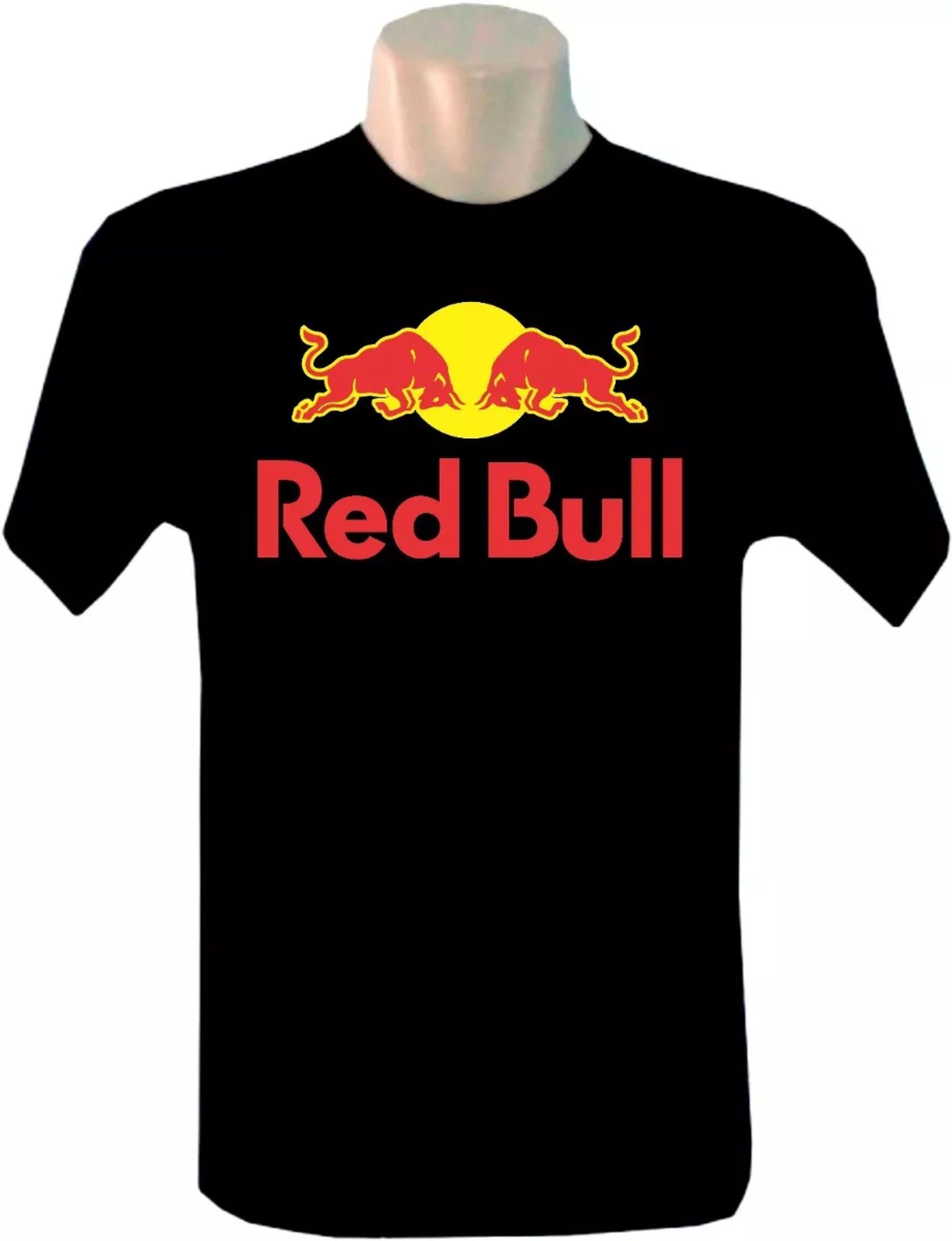 Camiseta Red Bull Energetico  d7cadab2f51