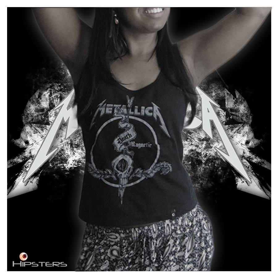 Camisa Regata Feminina Rock Slipknot  e8bdd124588aa