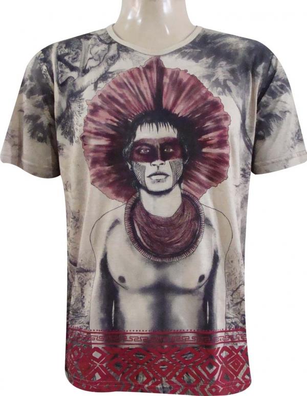 camiseta indiana Índio tupi g no elo7 artigo humanizado b04045