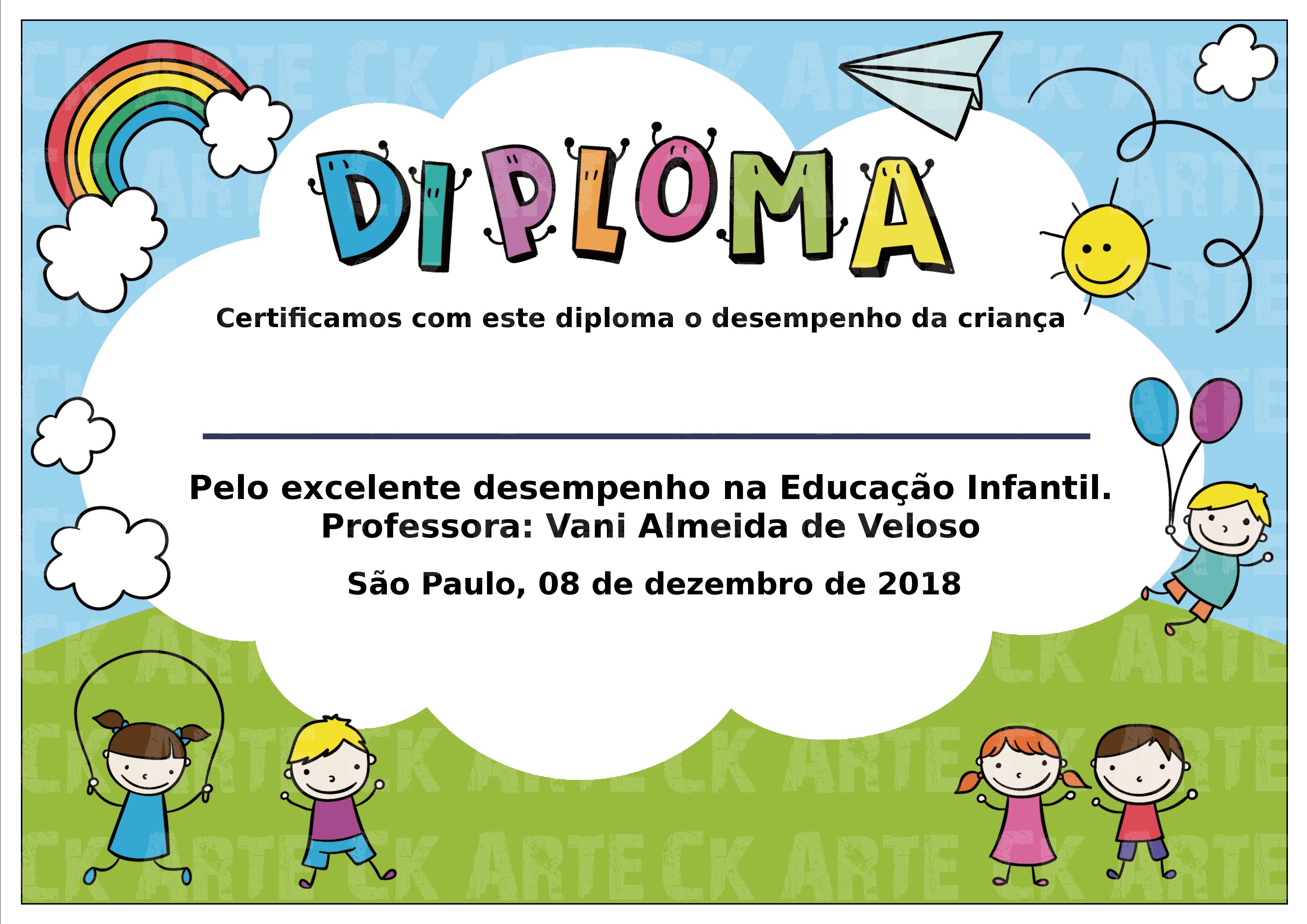 molduras para diploma infantil