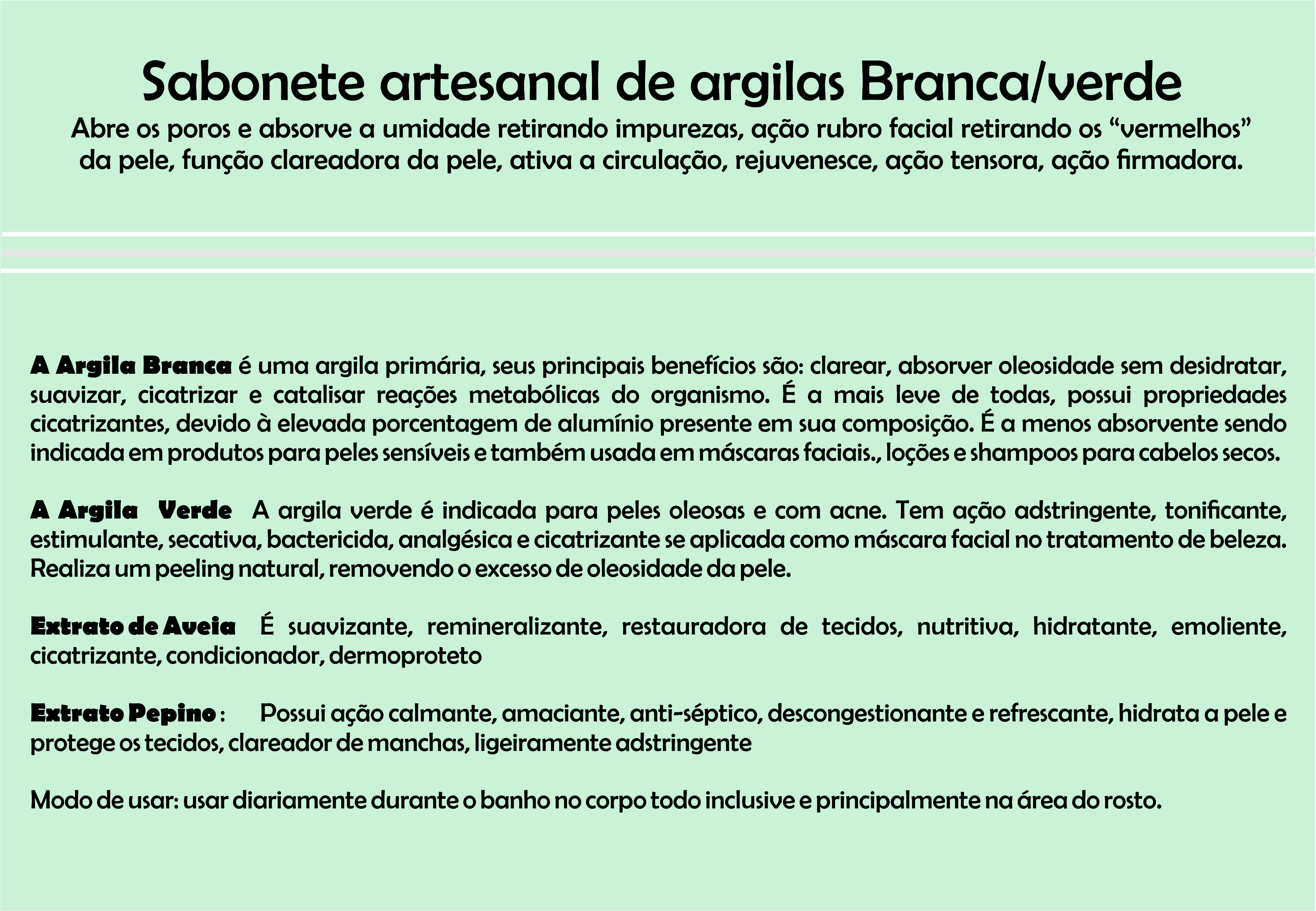 Sabonete Argila Verde No Elo7 Juliana Biz B07a20