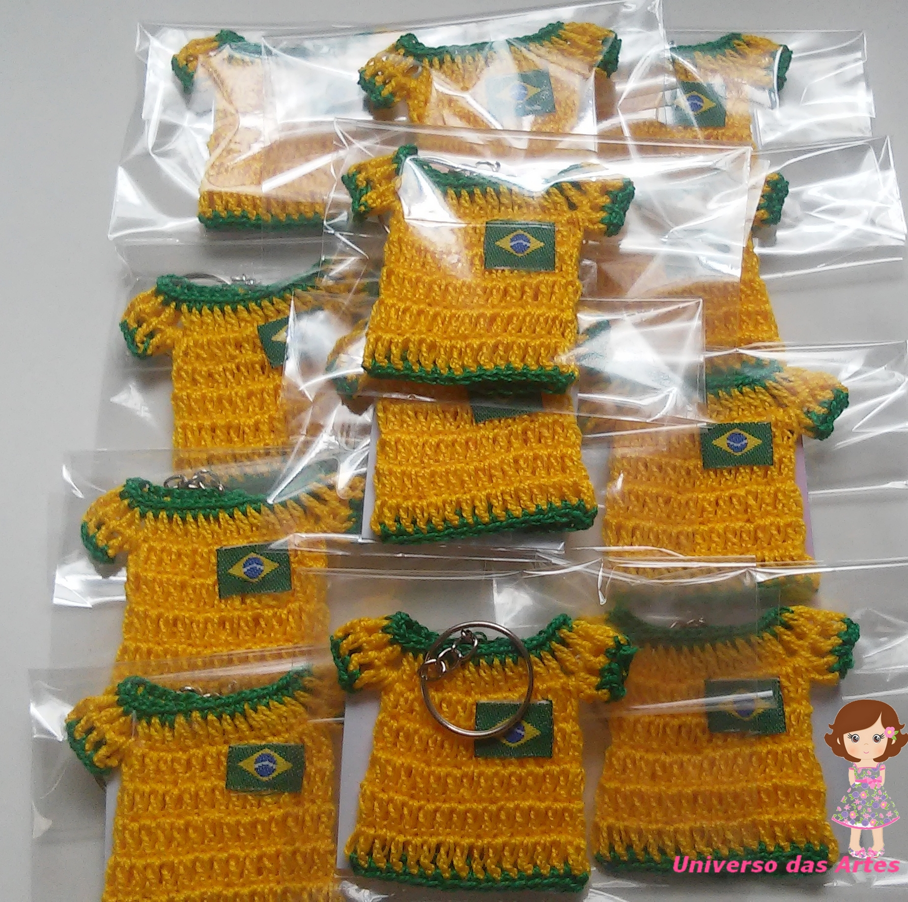 Mini Camiseta em Crochê no Elo7  bc31ab91713e2