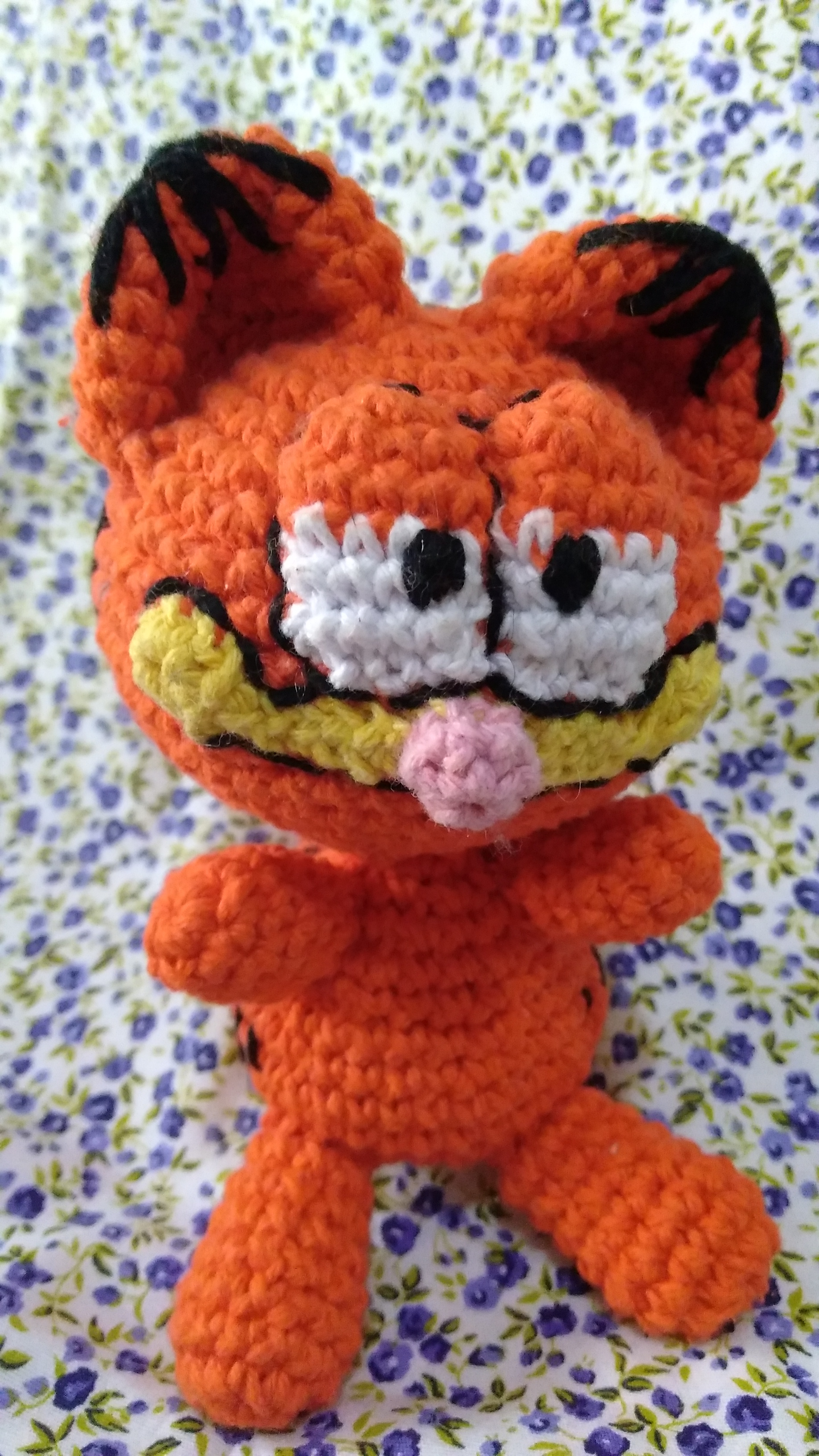 ⇨This is a crochet pattern and is NOT the Garfield doll. I DO ... | 3264x1836