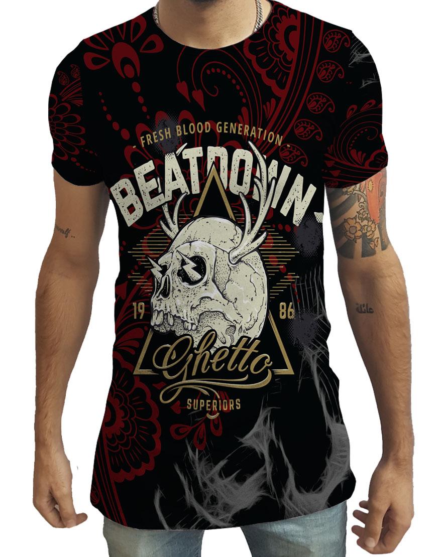 4d50221d50 Camiseta Estampa Arabesco