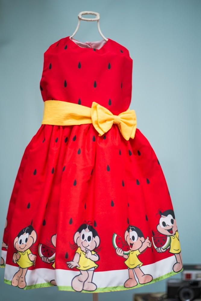18665d0bfbca Vestido Melancia Infantil | Elo7