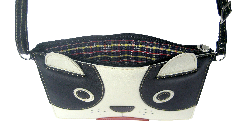 93c381de6 Bolsa Infantil Couro Tiracolo Transversal Cachorrinho Fofo no Elo7 |  Madamix Acessórios (B13990)