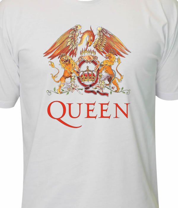 d1a547782311e Camiseta queen freddie mercury no Elo7