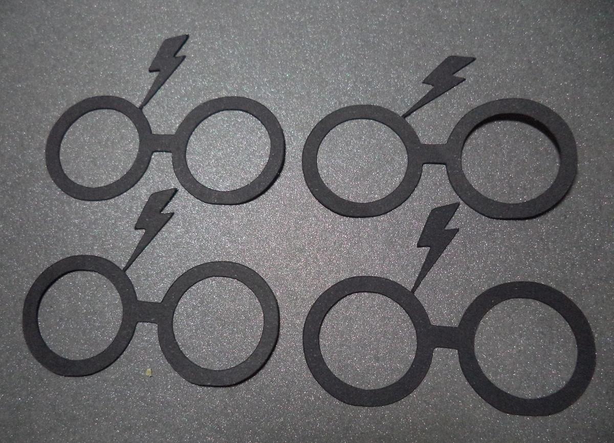 9a91a8a0508eb Aplique Óculos do Harry Potter no Elo7