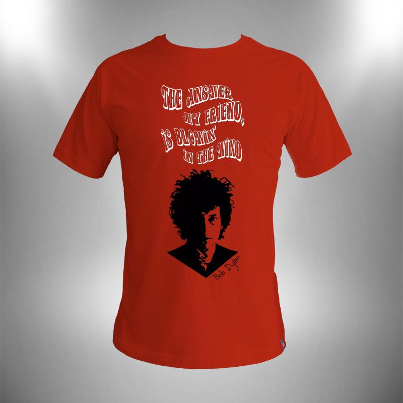 Camiseta Bob Dylan-Blowin in the wind Masculina no Elo7  056afdda65c7c
