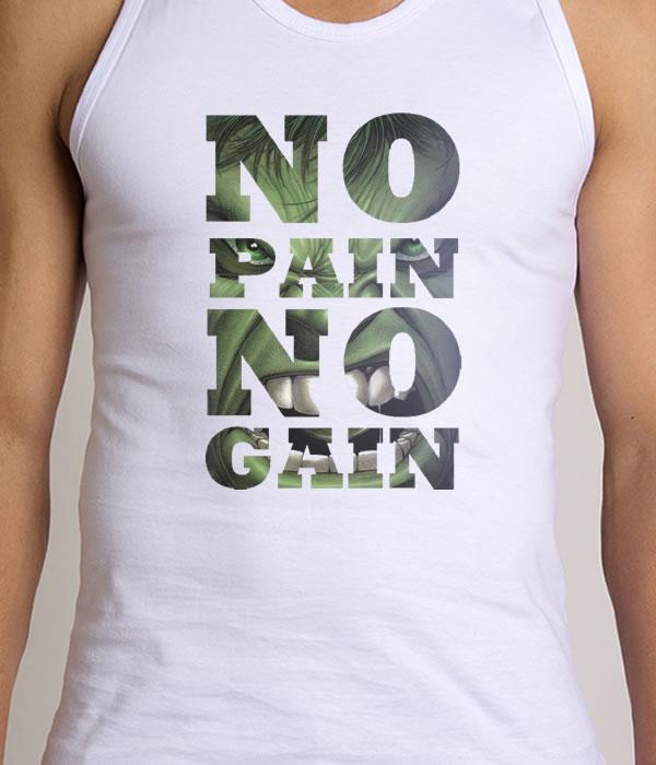 Regata Fitness No Pain No Gain  2acb08014cf