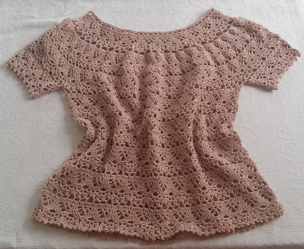 Design Of Blusa em crochê Brisa e preço