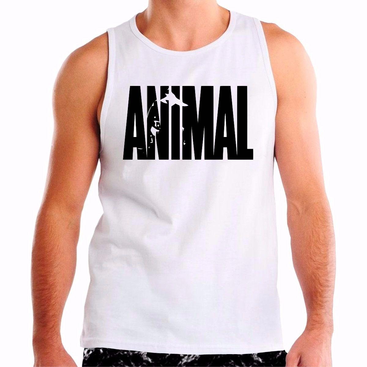 Camisa Regata Estampa Animal  dbaf575e66f