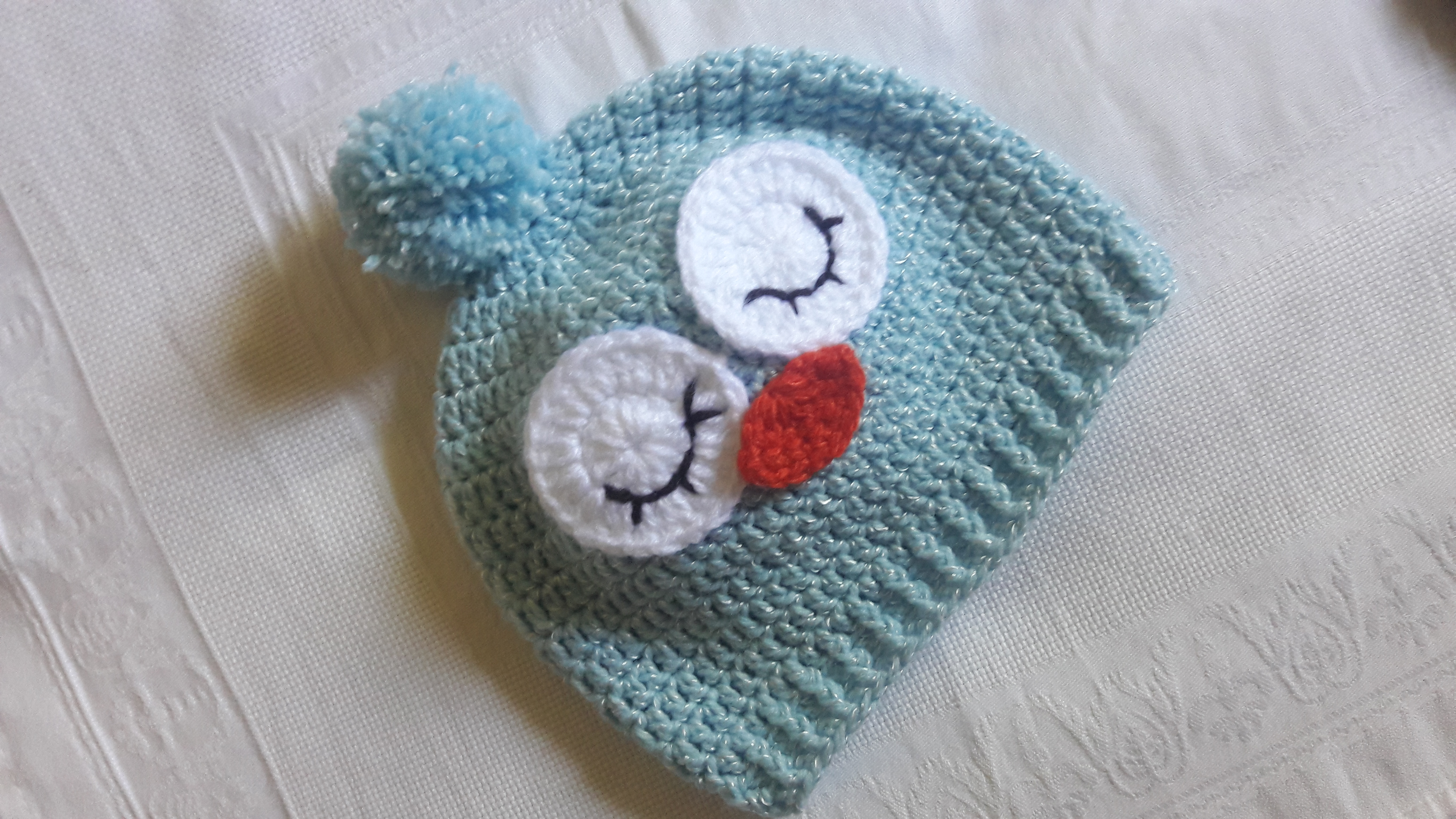 Compre 3 Leve 4 Touca de Croche Divertida Bichinhos  c5d883c2f61