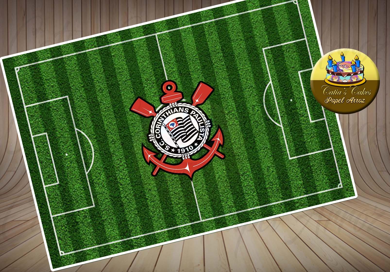 Bolo Decorado de Campo de Futebol  4a2ca48f33093