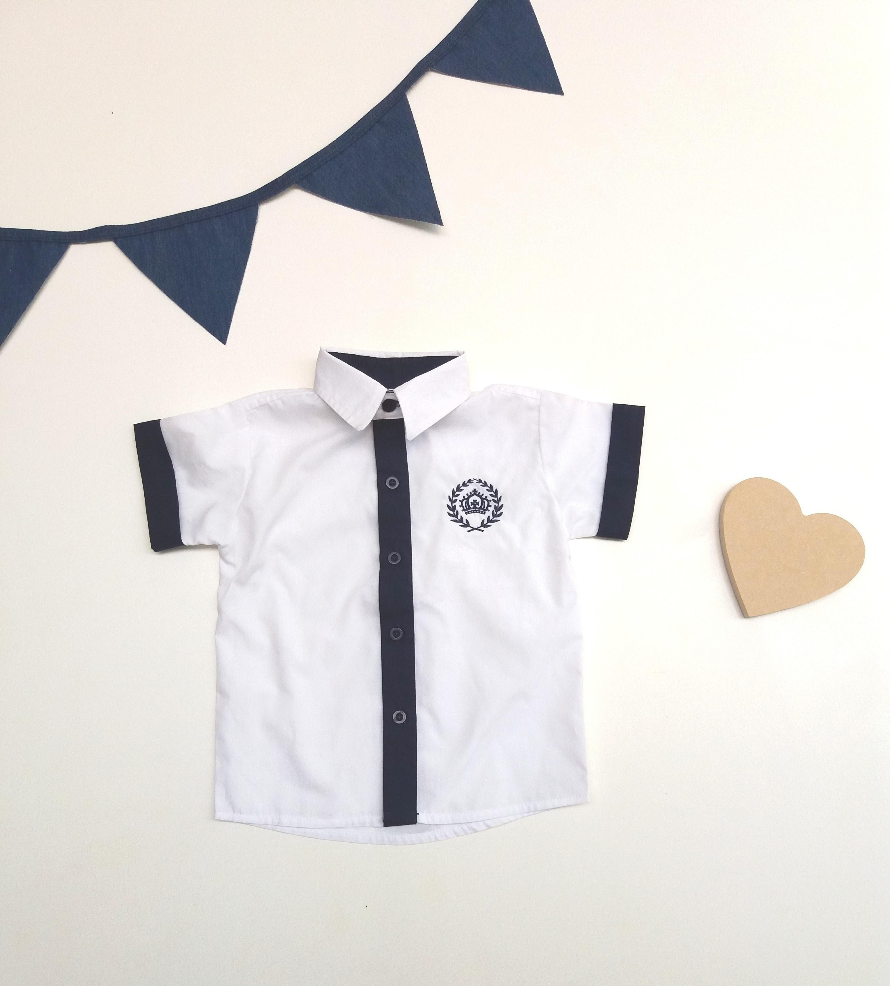 Camisa Xadrez Infantil Manga Curta  3bf6e03a83bf4