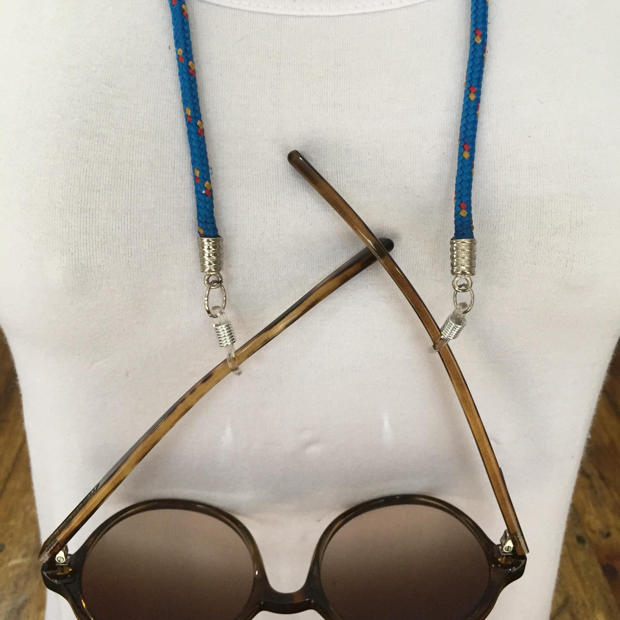 Cordão para pendurar óculos no Elo7   Carla Barranco acessórios (B2F5EC) 508de77591
