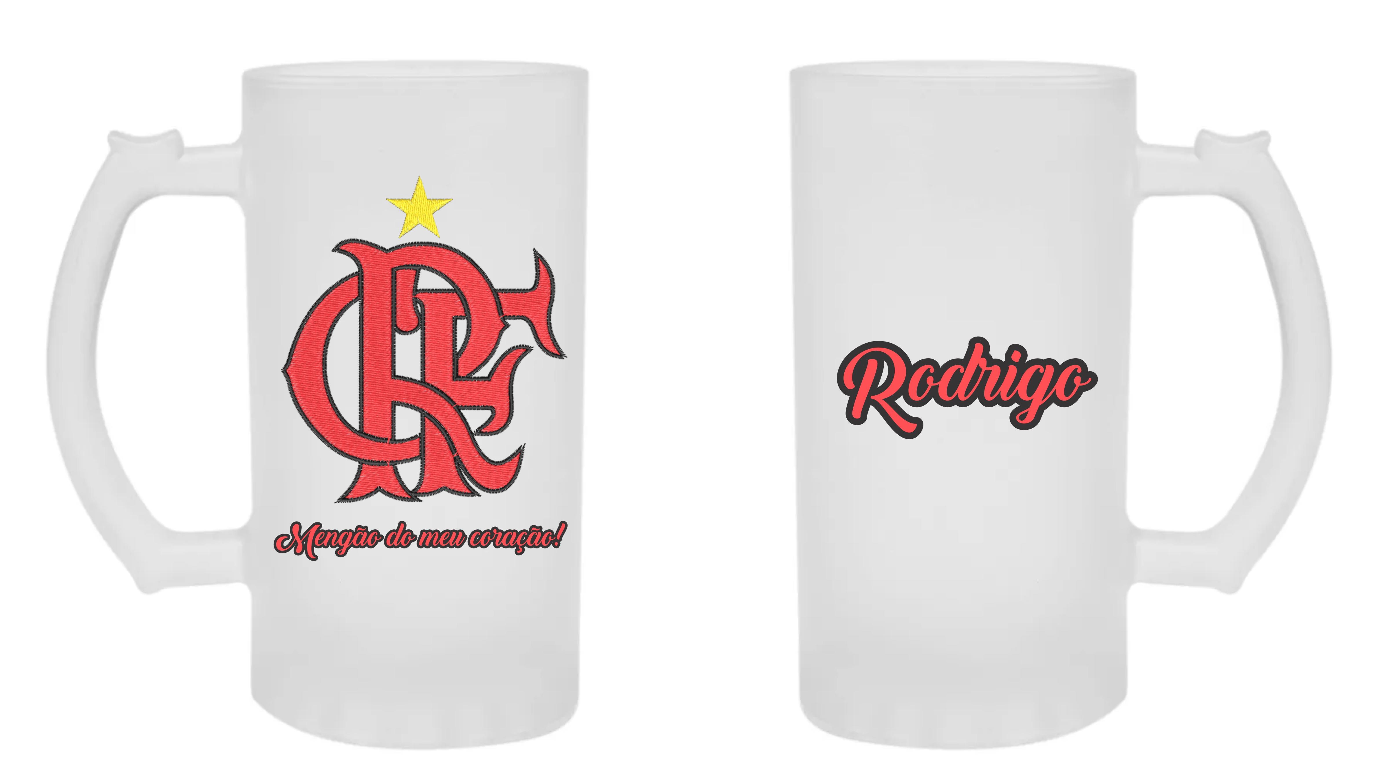 1e67b178d6 Kit Personalizado Flamengo Chinelo Caneca Brinde