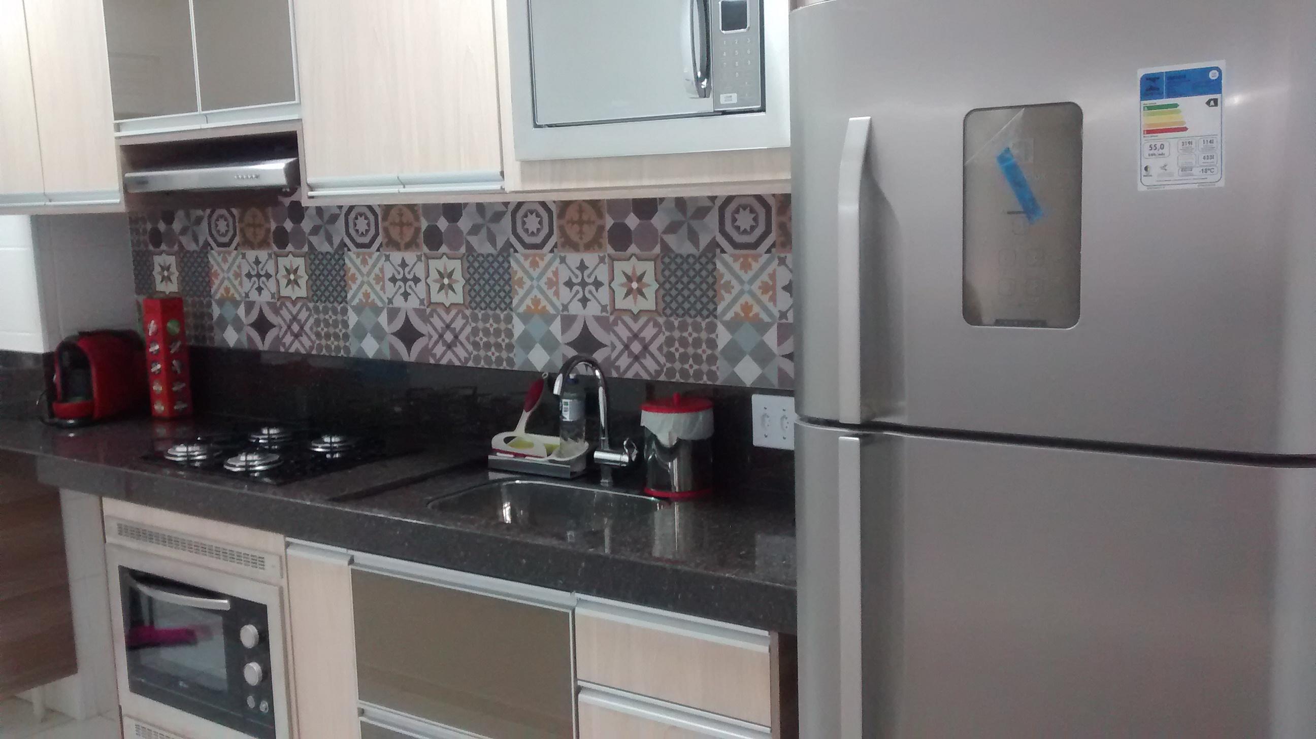 Adesivo De Azulejo Pastilhas Para Cozinha Banheiro Tons Bege  ~ Cozinha Decorada Com Pastilhas