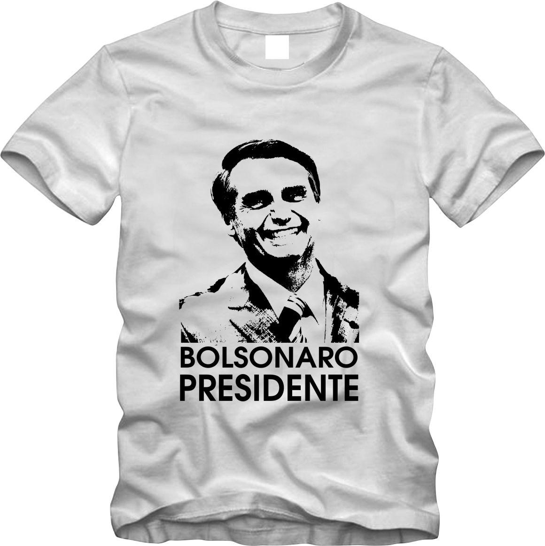 3f6c46da59 Camisa camiseta Jair Bolsonaro Presidente colorida Aniversrio e