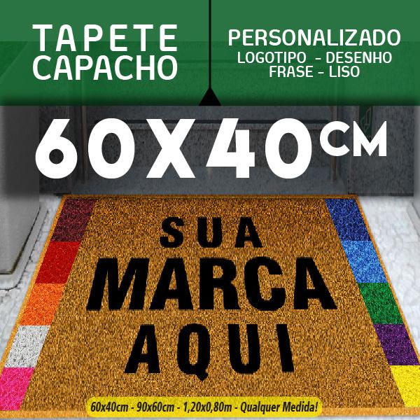Tapete Capacho Elas Prata 60x40cm  87952c7c85468