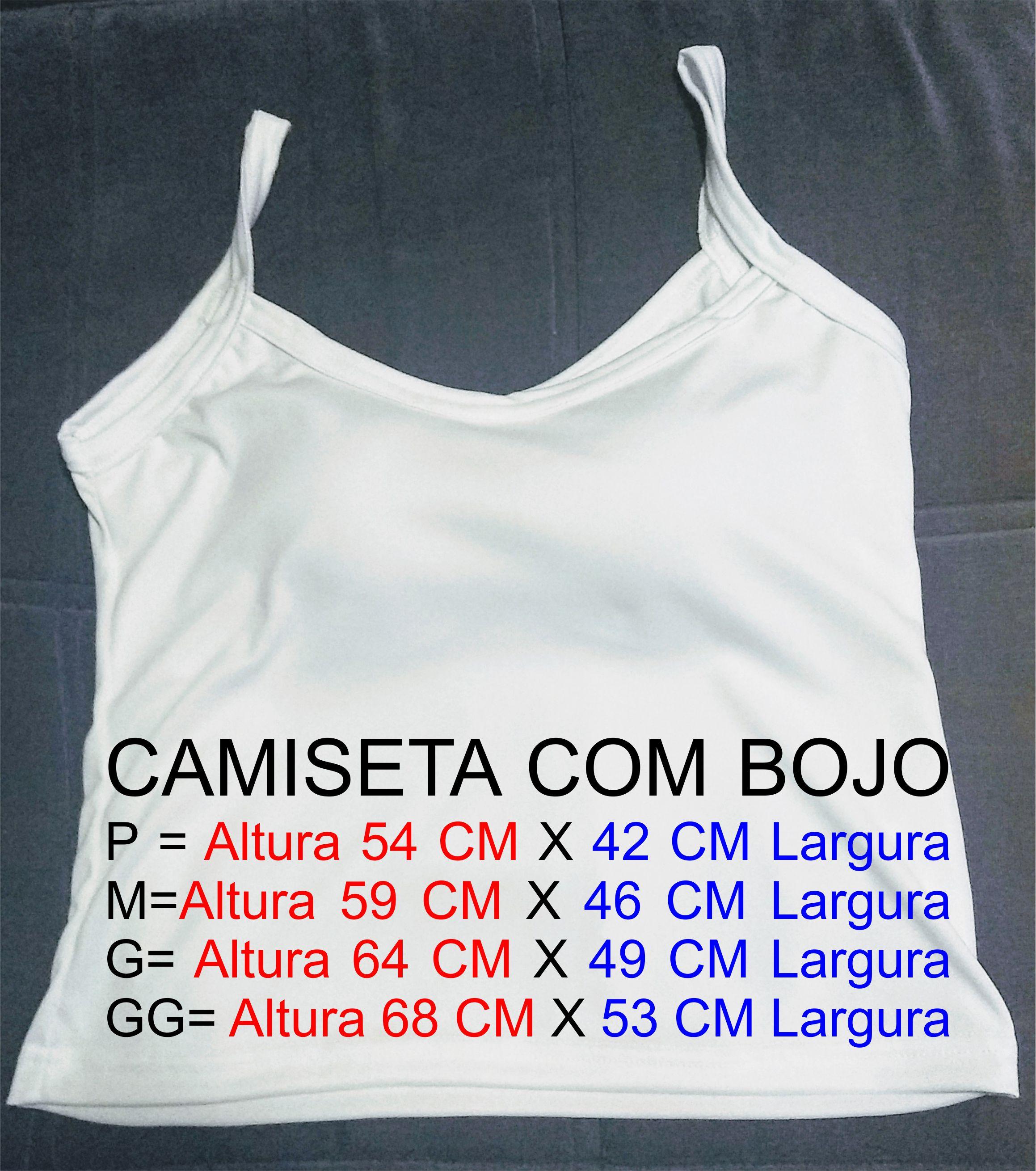 4fe9f59857 Camisa feminina com bojo no Elo7