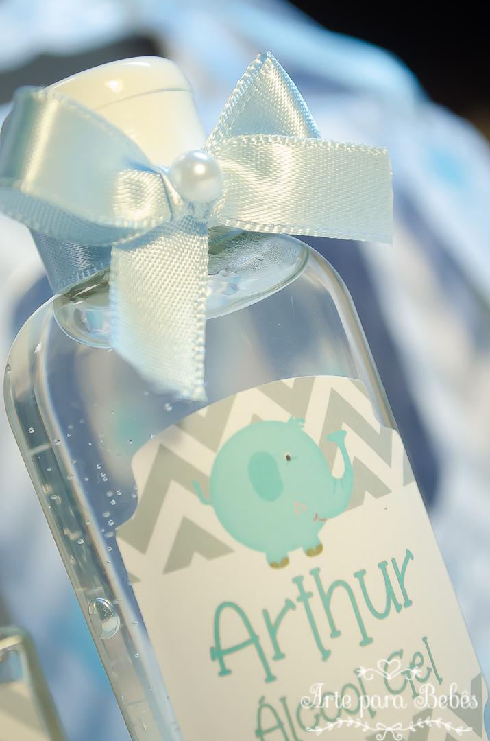 Kit Maternidade Chevron Álcool Gel 60gr HomeSpray no Elo7   Arte Para Bebês  (B44D0A) 0fbacb3d4e