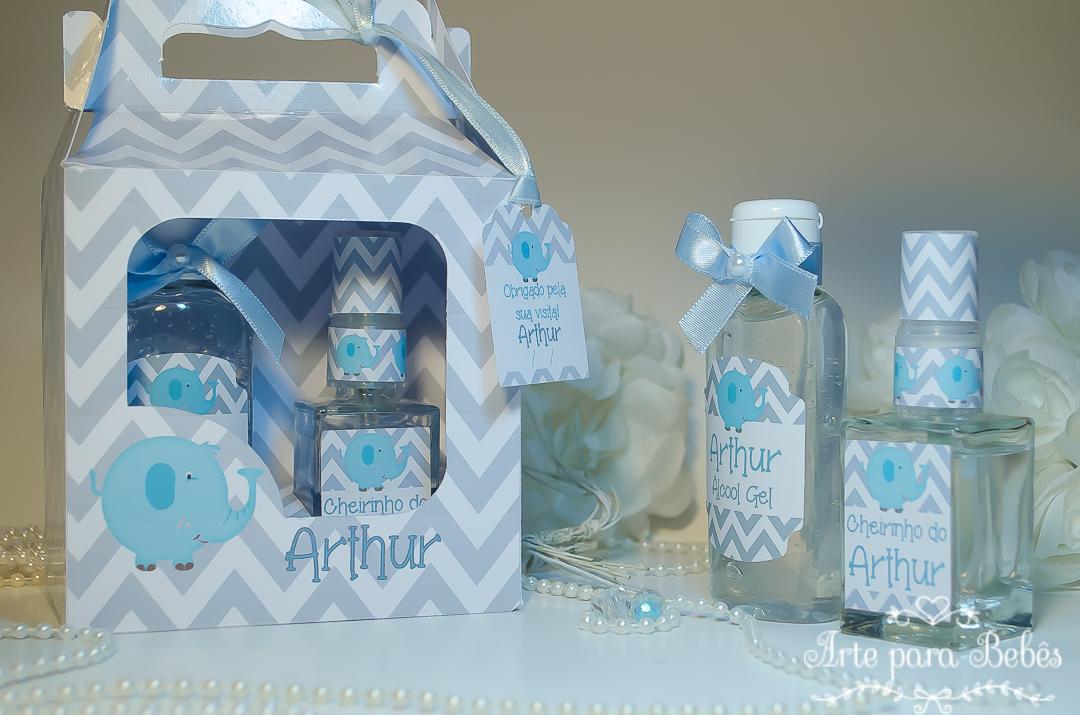 Kit Maternidade Chevron Álcool Gel 60gr HomeSpray no Elo7   Arte Para Bebês  (B44D0A) e901f80baa