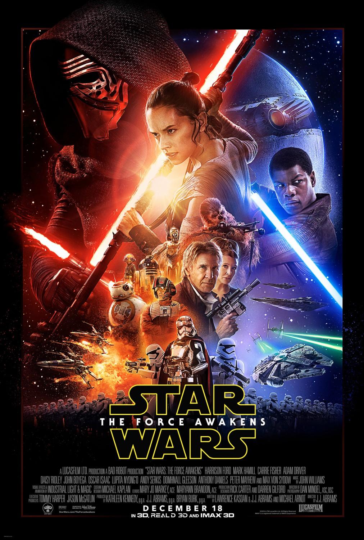 Resultado de imagem para star wars o despertar da força poster