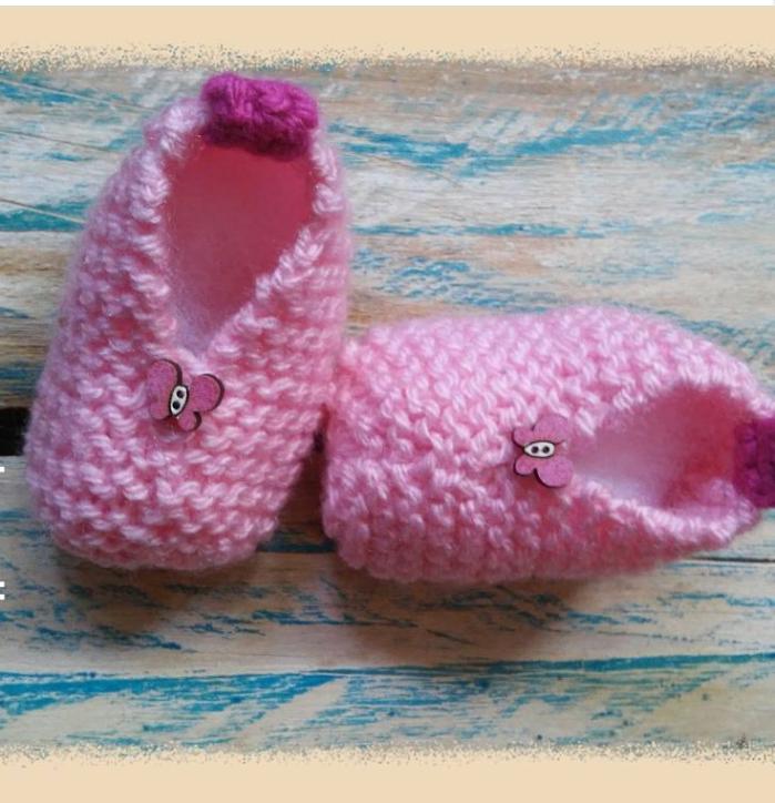 Sapatinhos para Recem Nascidos  12125cb3c40
