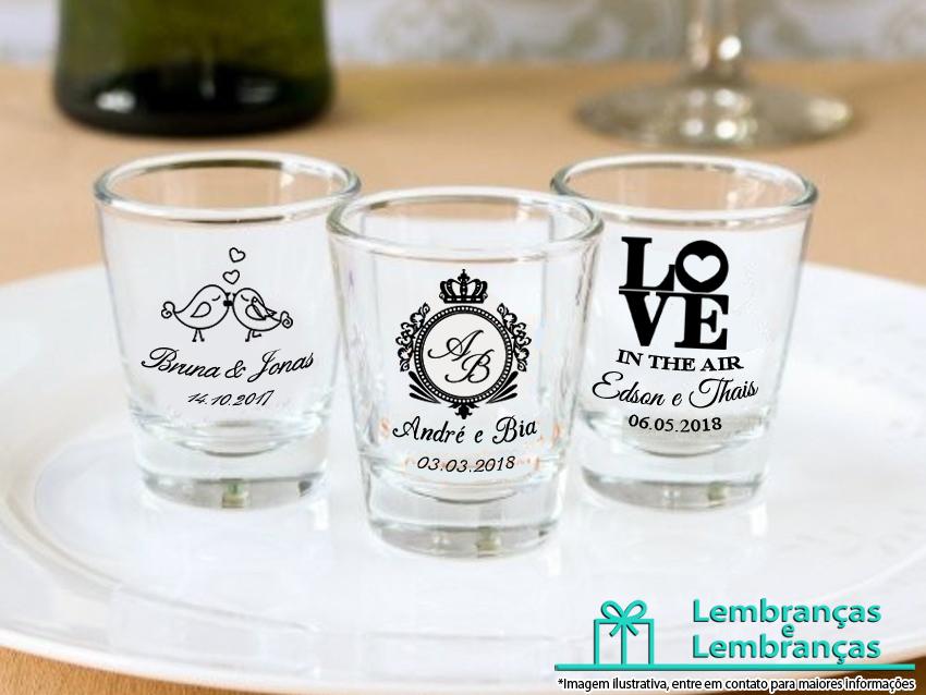 1ca344c43 Lembrancinha de casamento Mini copo vidro Shot Dose Persona no Elo7 ...