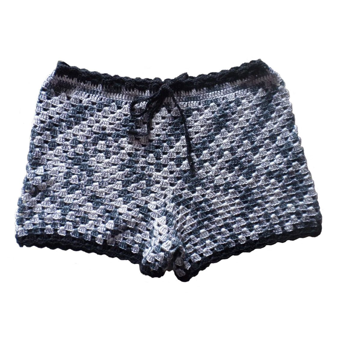 Croché Short Moda Praia  a897ee01af4f8