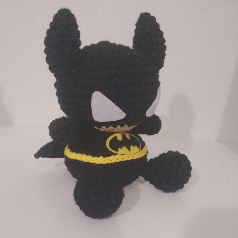 Batman Crochet Pattern Amigurumi | Etsy | Batman amigurumi, Muñeca ... | 2448x2448