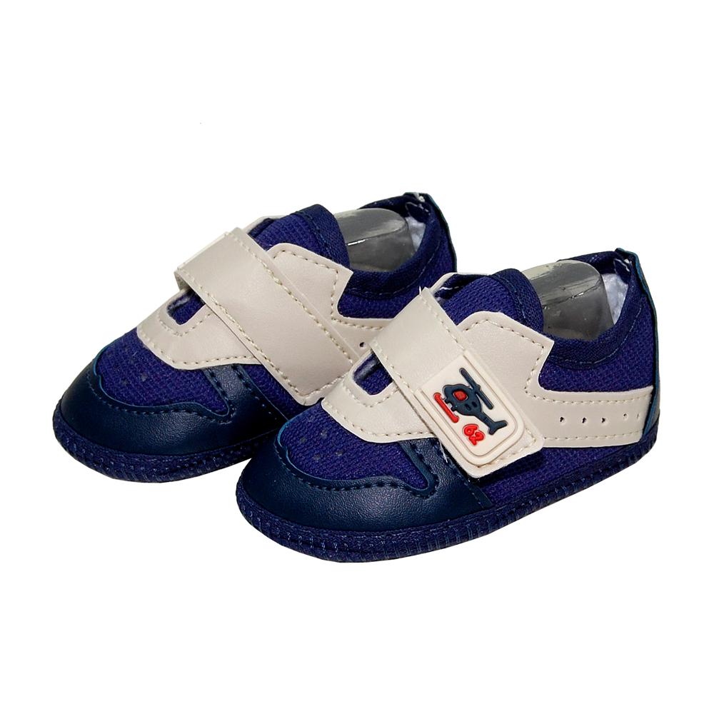 dc025a791 Sapato Confort Azul Marinho e Bege - Ref.MSP0042 no Elo7 | Sapatinhos Baby  (B6185B)