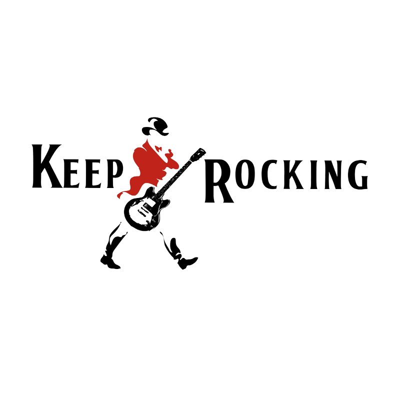 Camiseta Baby Look Keep Rocking Feminina no Elo7  70378a8e33b5b