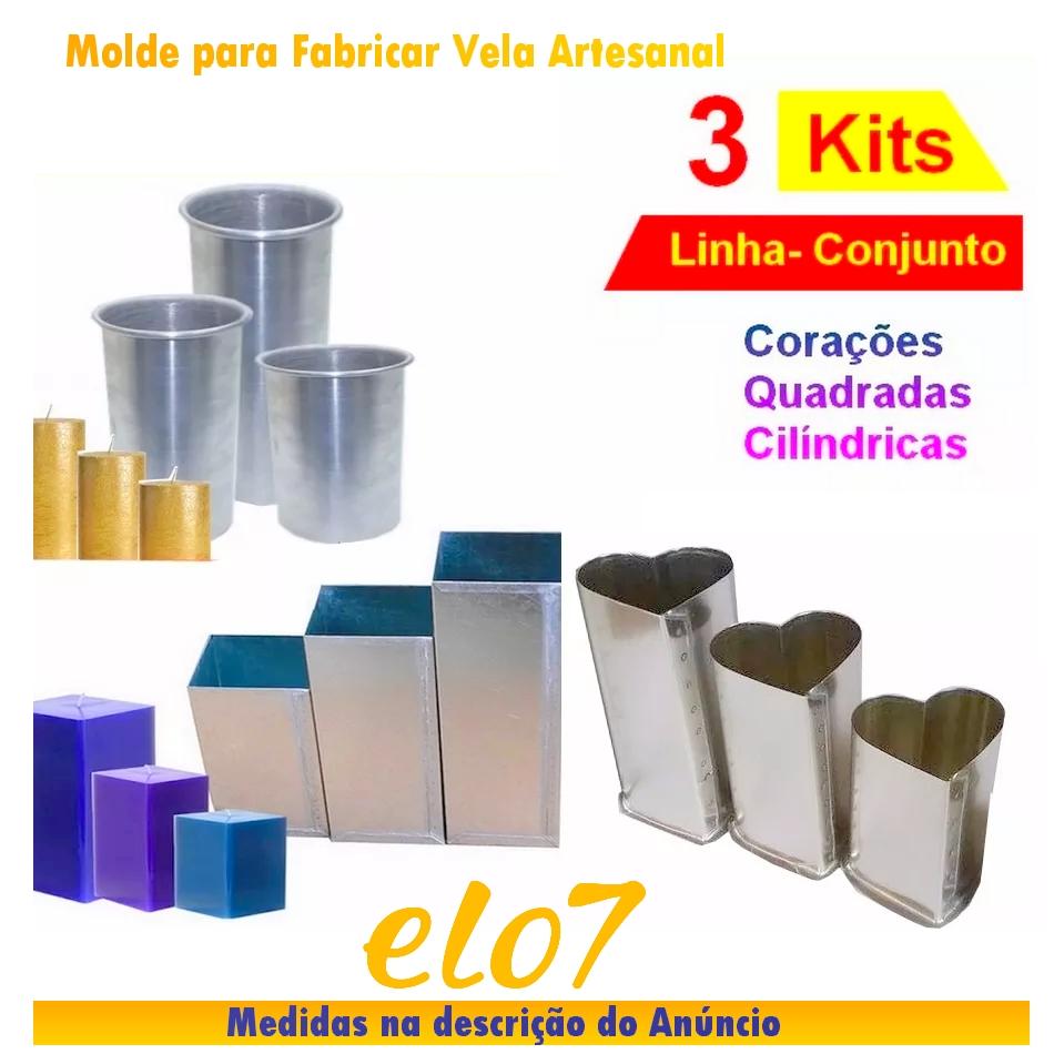 Molde para Velas Artesanais  c462769ff1f