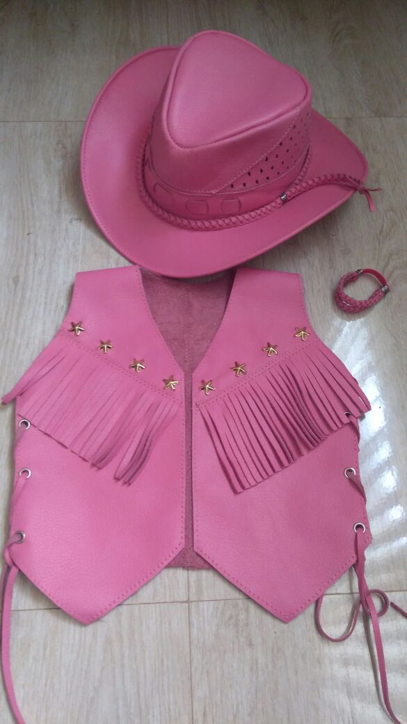 Colete Country Rosa  6ab21a4142d