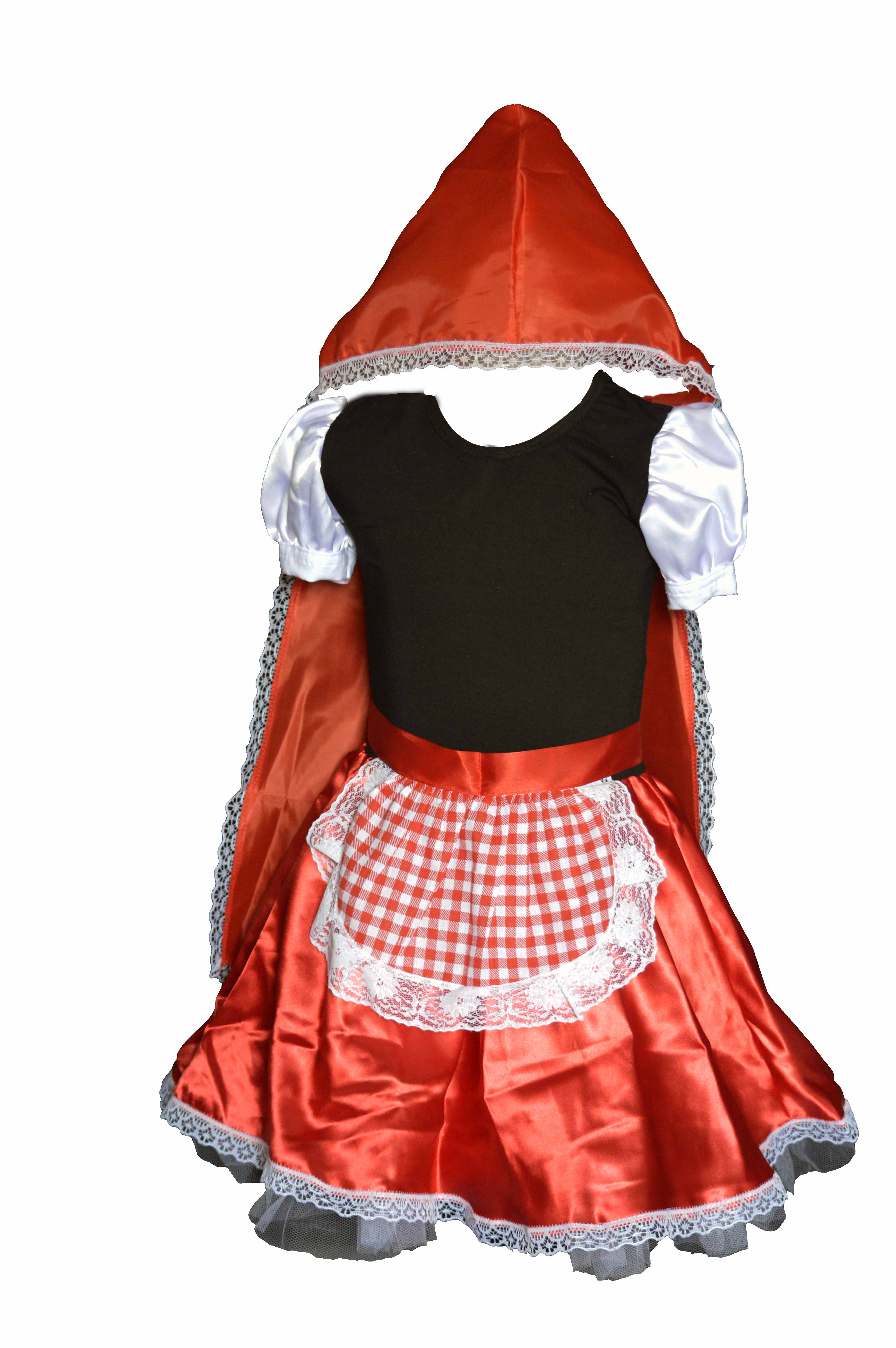 13bfe35656 Fantasia Infantil Chapeuzinho Vermelho no Elo7   Pike Moda Infantil (B66235)