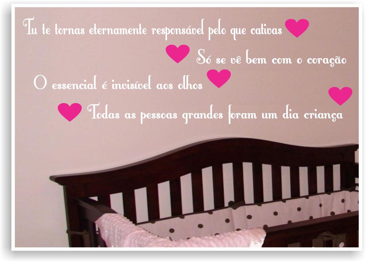 Frase Frases Pequeno Príncipe Menina No Elo7 Adesivos Sr