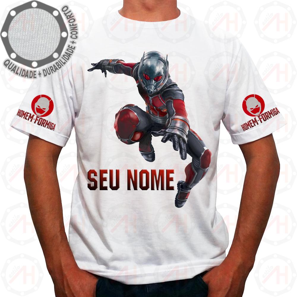 96e01d4b44 Camisa Personalizada Homem Formiga