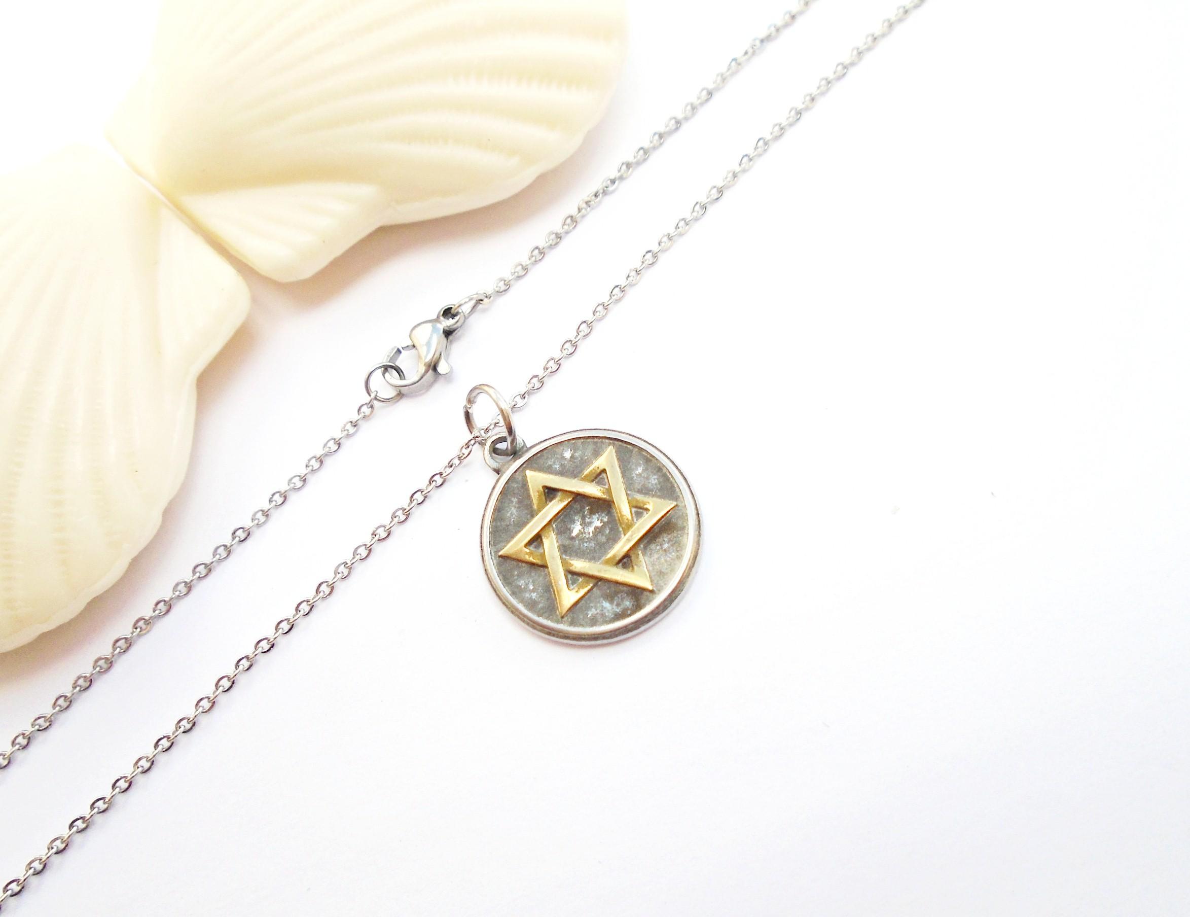 5d1100a3954 Corrente Estrela de Davi